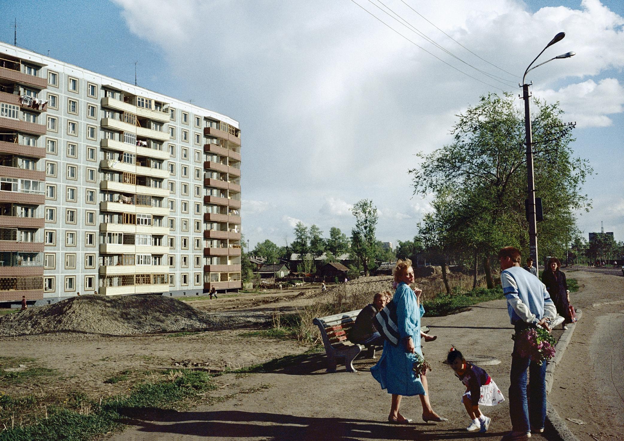 8/6/1991, Yuzhno-Sakhalnsk, Sakhalin, Russian SFSR: Yuzhno-Sakhalinsk suburbs