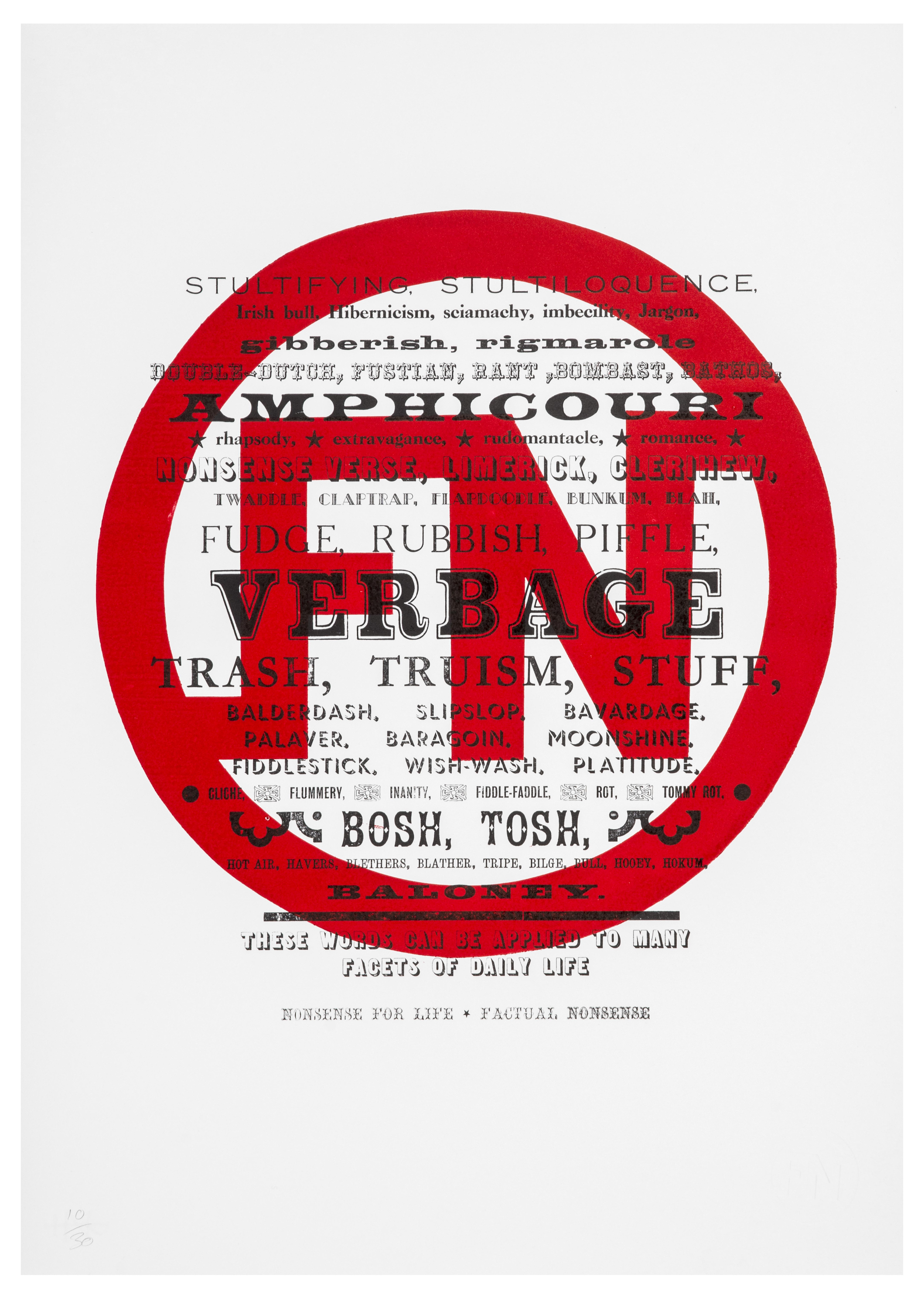 Darren Coffield and Graham Bignell Factual Nonsense - Verbage