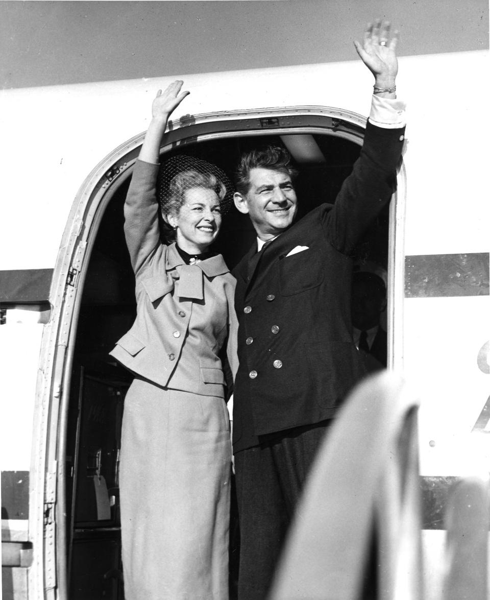 Leonard and Felicia Bernstein