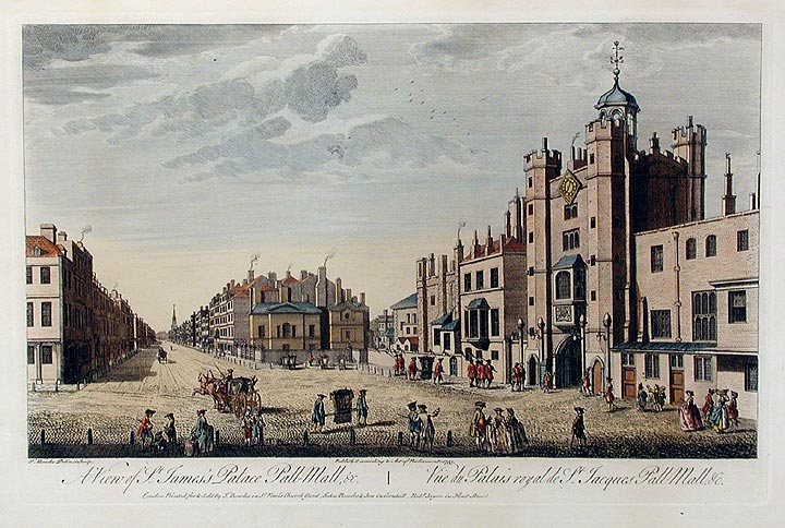 A_View_of_St_James_Palace,_Pall_Mall_etc_by_Thomas_Bowles,_published_1763