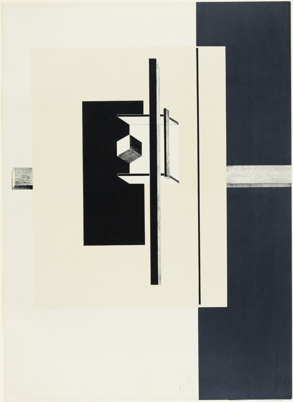 El Lissitzky -1o Kestnermappe Proun [Proun. 1st Kestner Portfolio] Published 1923 Scottish National Gallery of Modern Art, Edinburgh © the Artist. All rights reserved.