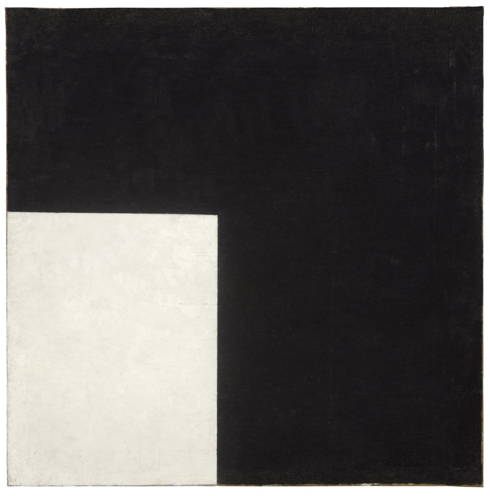 Kazimir Malevich Black and White. Suprematist Composition 1915. Moderna Museet, Stockholm Donation 2004 from Bengt and Jelena Jangfeldt.